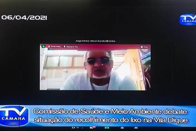 Cosmam - Ampliação do debate sobre a situação do recolhimento do lixo na Vila Dique, discussão sobre contratos dos serviços de triagem e fiscalização de coleta clandestina de materiais recicláveis. (Foto: Ederson Nunes/CMPA)