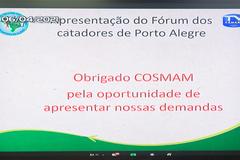 Ampliação do debate sobre a situação do recolhimento do lixo na Vila Dique, discussão sobre contratos dos serviços de triagem e fiscalização de coleta clandestina de materiais recicláveis.