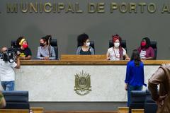Bancada Negra eleita nas eleições 2020.