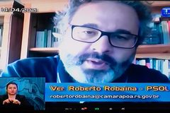 Robaina é autor do projeto votado hoje em sessão virtual