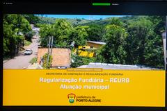 REURB – Aspectos Legais e Aplicação na Prática - Ênfase na Atuação Municipal.