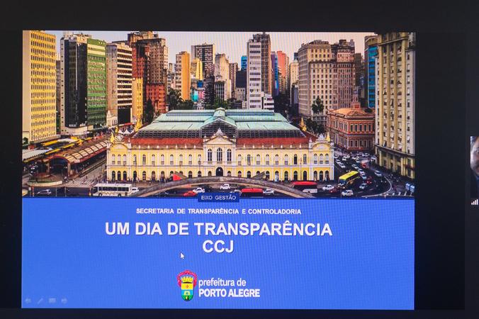 Gestão da Transparência no Município de Porto Alegre.