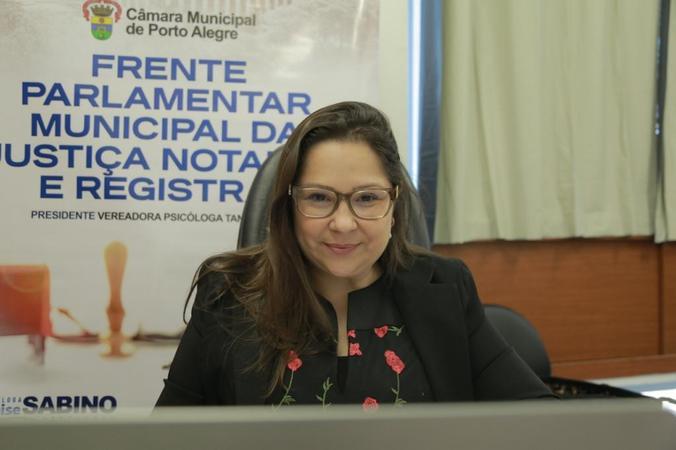 Evento de instalação da Frente Parlamentar da Justiça Notarial e Registral