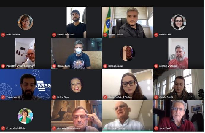 Sob a presidência do vereador Ramiro Rosário (PSDB), o encontro virtual teve a participação da comunidade, empresários e interessados nesta região da cidade
