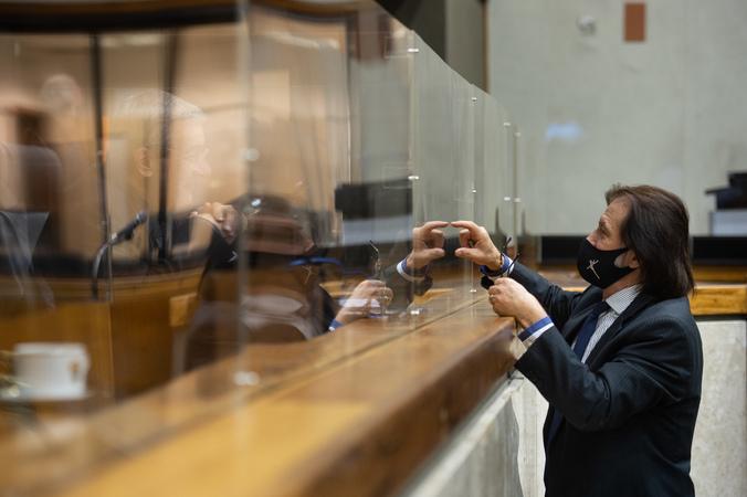 Sessão ordinária - Sessão ordinária híbrida no plenário Otávio Rocha. (Foto: Ederson Nunes/CMPA)