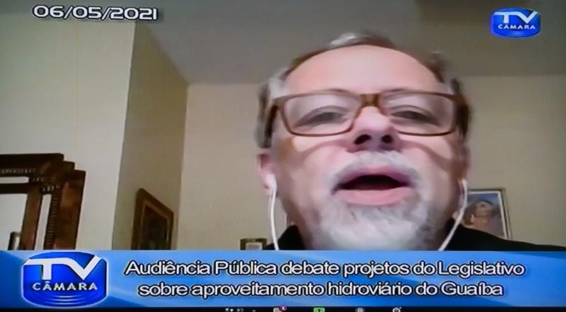 Audiência Pública - Audiência Pública para debater sobre o projeto de aproveitamento hidroviário do Guaíba. (Foto: Jeannifer Machado)