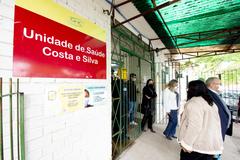 Unidade de Saúde  do bairro Rubem Berta