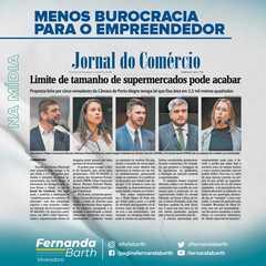 O projeto foi destaque na edição desta sexta-feira (14/05), do Jornal do Comércio.