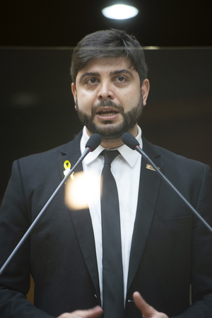 Sessão Ordinária - Retrato. Vereador Felipe Camozzato. (Foto: Jeannifer Machado/CMPA)