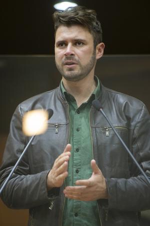 Sessão Ordinária - Retrato. Vereador Jessé Sangalli. (Foto: Jeannifer Machado/CMPA)
