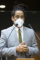Retrato. Vereador Matheus Gomes.