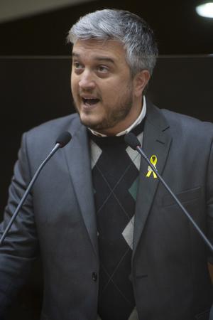 Sessão Ordinária - Retrato. Vereador Ramiro Rosário. (Foto: Jeannifer Machado/CMPA)