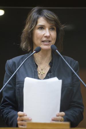 Sessão Ordinária - Retrato. Vereadora Comandante Nádia. (Foto: Jeannifer Machado/CMPA)