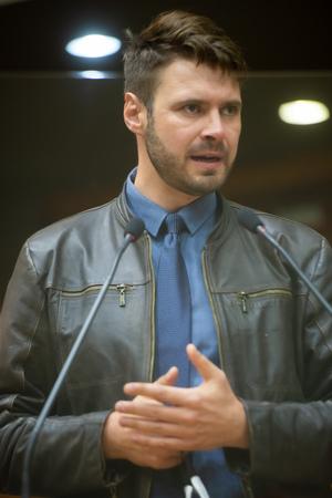 Sessão Ordinária - Sessão ordinária híbrida. Retrato. Vereador Jessé Sangalli. (Foto: Jeannifer Machado/CMPA)