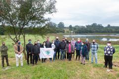 Vereadores trataram com moradores sobre a manutenção barragem e situação da população ribeirinha