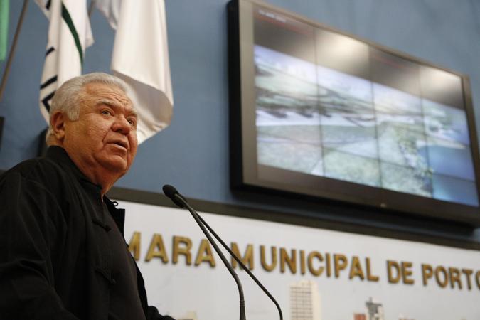 Morre o arquiteto Jaime Lerner, idealizador da Orla Moacyr Scliar. Foto: Ricardo Giusti/Arquivo PMPA