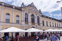 Mercado Público de Porto Alegre está localizado no Centro Histórico