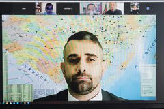 Situação de presos em viaturas, NUGESP, situação das cadeias de Porto Alegre e regulamentação da Polícia Penal no Estado.CONVIDADOS: SUSEPE, Secretaria de Justiça, Cidadania e Direitos Humanos, Gabinete do Vice Governador, SSP-RS, Conselho Penitenciário do RS, ASPERGS – Associação dos Servidores Penitenciários Administrativos do RS, APROPENS – Associação dos Técnicos Superiores Penitenciários do Rio Grande do Sul, Associação dos Monitores e Agentes Penitenciários do Rio Grande do Sul.  Participação dos Vereadores da Comissão e diversas autoridades no assunto.