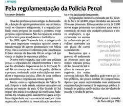Artigo publicado no Jornal do Comércio dia 08 de junho