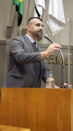 vereador Alexandre Bobadra protocolou Moção de Apoio à Proposta de Emenda à Constituição 275