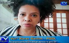 Cuthab debate situação da Carris no transporte de Porto Alegre. Com a fala a vice-presidente da comissão vereadora Karen Santos.
