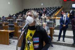 Posse da vereadora suplente Natasha Ferreira.