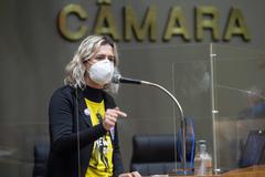 Vereadora Natasha Ferreira (PSOL)