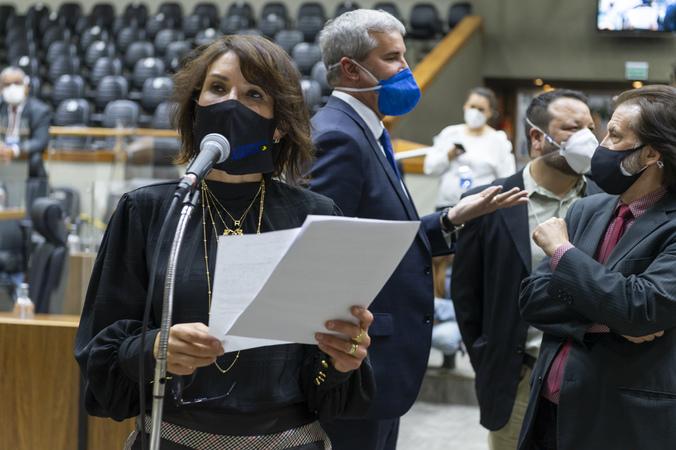 Sessão Ordinária - Sessão Ordinária híbrida. Movimentações de plenário. (Foto: Jeannifer Machado/CMPA)