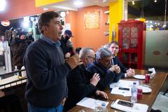 Presidente Márcio Bins Ely participa de reunião do prefeito e vereadores com empresários da Zona Sul da cidade.