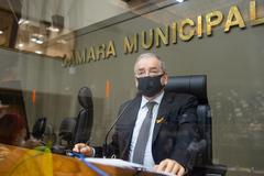Cecchim exerce a presidência do Legislativo até quinta-feira