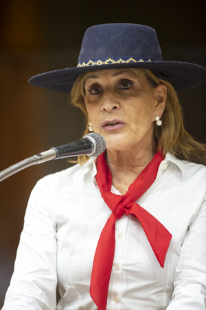 Retrato - Retrato vereadora Mônica Leal. (Foto: Elson Sempé Pedroso/CMPA)
