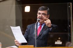 Vereador José Freitas (Republicanos) preside a Frente