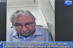 Reunião para apresentação e debate do Plano de Mobilidade Urbana de Porto Alegre.