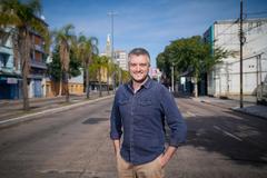 Ramiro Rosário no 4º Distrito de Porto Alegre. Foto: Jefferson Bernardes / Divulgação / Arquivo