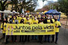 Caminhada Juntos Pela Vida é promovida em Porto Alegre