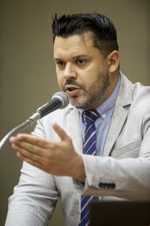 Retrato - Retrato vereador Kaká D'Ávila. (Foto: Elson Sempé Pedroso/CMPA)