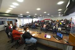 Instalação foi hoje no Plenário Ana Terra