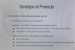 Reunião para debater sobre ações de incentivo ao Setembro Amarelo no município.