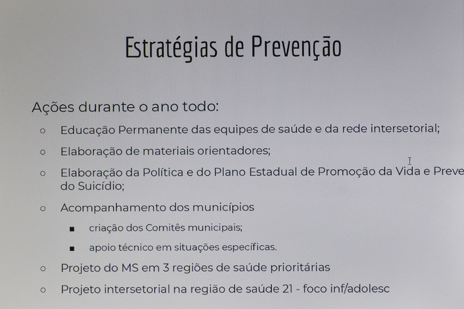COSMAM - Reunião para debater sobre ações de incentivo ao Setembro Amarelo no município. (Foto: Martha Izabel/CMPA)