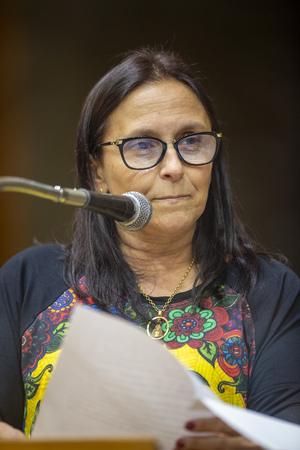 Retrato - Vereadora Cláudia Araújo (Foto: Elson Sempé Pedroso/CMPA)