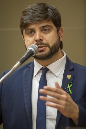 Retrato - Vereador Felipe Camozzato (Foto: Elson Sempé Pedroso/CMPA)