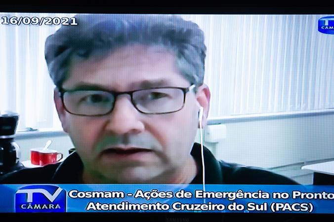 Cosmam - Ações de Emergência no Pronto Atendimento Cruzeiro do Sul (PACS). (Foto: Ederson Nunes/CMPA)