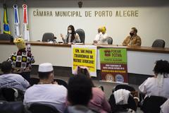 Primeira reunião da Frente, que será presidida pela vereadora Karen Santos (PSOL), teve ampla participação