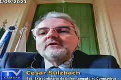 Secretário Cesar Sulzbach disse que haverá reavaliação dos protocolos para reabertura do setor de eventos na Capital