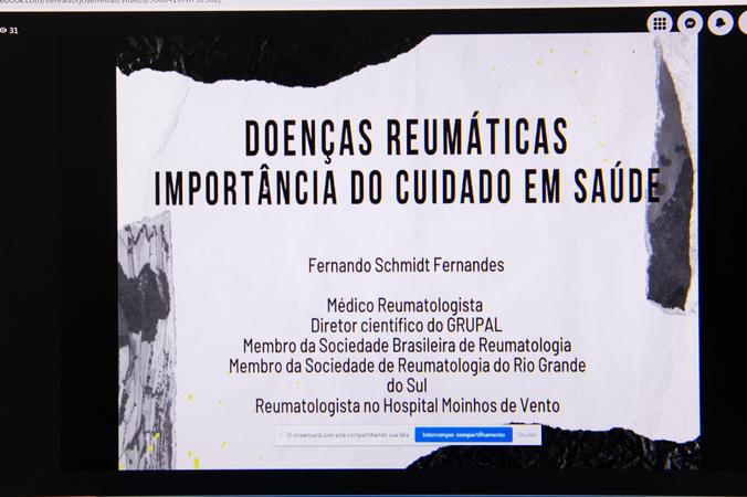 Frente Parlamentar - Instalação da Frente Parlamentar de Combate às Doenças Reumáticas. (Foto: Ederson Nunes/CMPA)