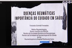 Instalação da Frente Parlamentar de Combate às Doenças Reumáticas.