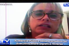 Audiência Pública debate projetos do Executivo sobre logística reversa.