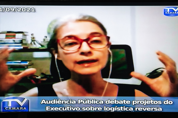 Audiência Pública - Audiência Pública debate projetos do Executivo sobre logística reversa. (Foto: Ederson Nunes/CMPA)