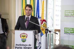Vereador Márcio Bins Ely (PDT), presidente da Câmara em 2021