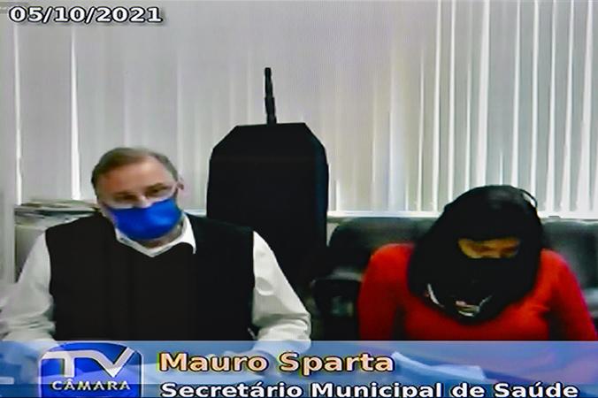 Audiência Pública para apresentação do Relatório de Gestão da Saúde do 2º quadrimestre de 2021.